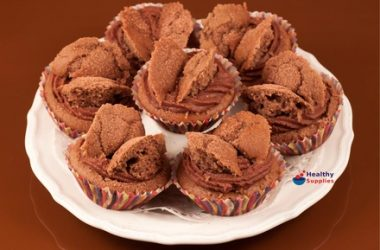 Mocha Butterfly Cakes (Gluten-free)