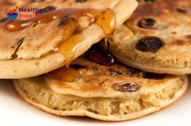 American Style Raisin Pancakes