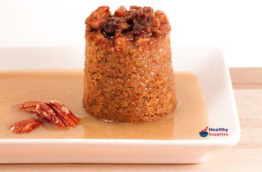 Apple, Cinnamon & Pecan Puddings