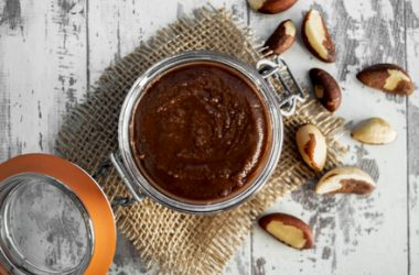 Homemade Brazil Nut & Cacao Butter