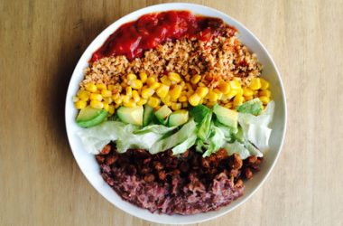Veggie Burrito Power Bowl