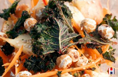 Carrot and Tiger Nut Breakfast Salad
