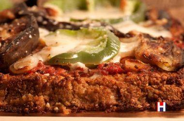 Vegetarian Cauliflower Pizza