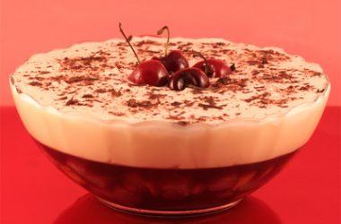 Gluten-Free Cherry Trifle