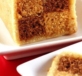 Chocolate Orange Battenberg Cake