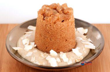 Coconut & Ginger Mini Sponge Puddings