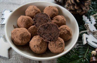 Dark & Salty Chocolate Truffles