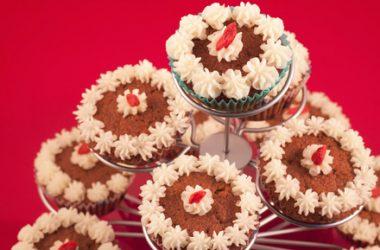 Goji Berry Cupcakes