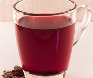 Hibiscus and Raspberry Leaf Tea