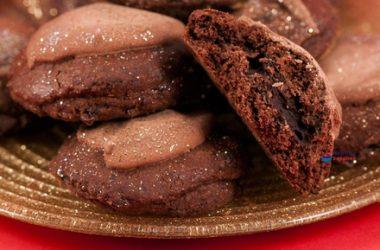 Iced Chocolate Cookies