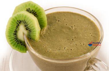 Kiwi Green Tea Smoothie