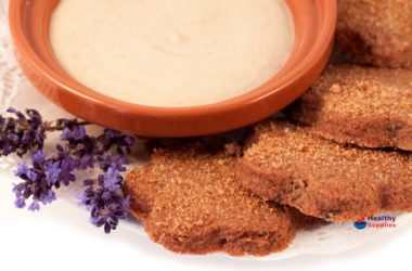 Lavender Shortbread With Vanilla Posset