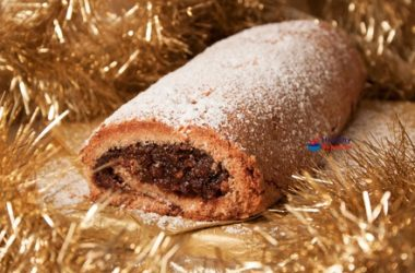 Mincemeat Pudding Roll