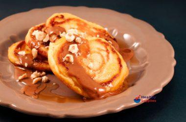 Hazelnut & Maple Syrup Pancakes