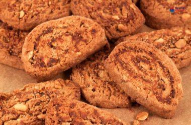 Peanut & Fig Swirl Cookies