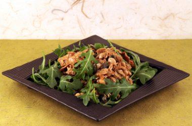 Roasted Tofu Bean Salad