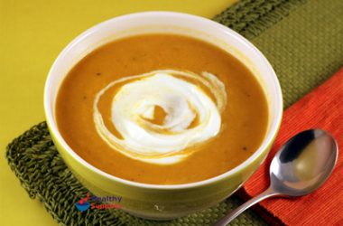 Roasted Butternut Squash and Parsnip Soup