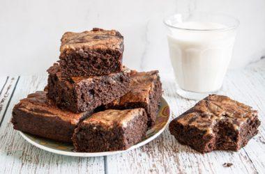 Tahini Swirl Vegan Brownies