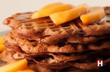 Wintertime Sweet Waffles