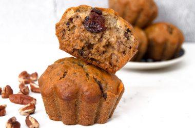 Banana & Chia Muffins
