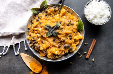 Black Chickpea Curry