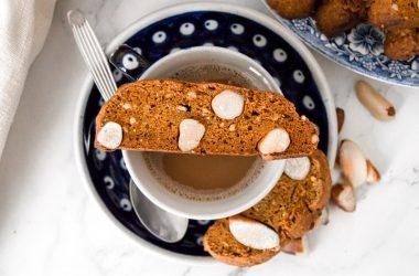 Brazil Nut & Pumpkin Biscotti