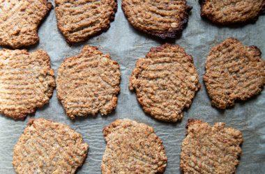 Chia, Almond & Oat Cookies