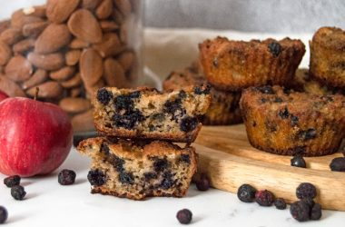 Low Carb Blueberry & Almond Flour Muffins