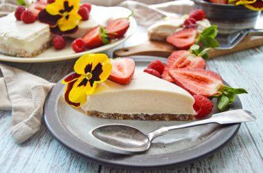 Silken Tofu Cheesecake