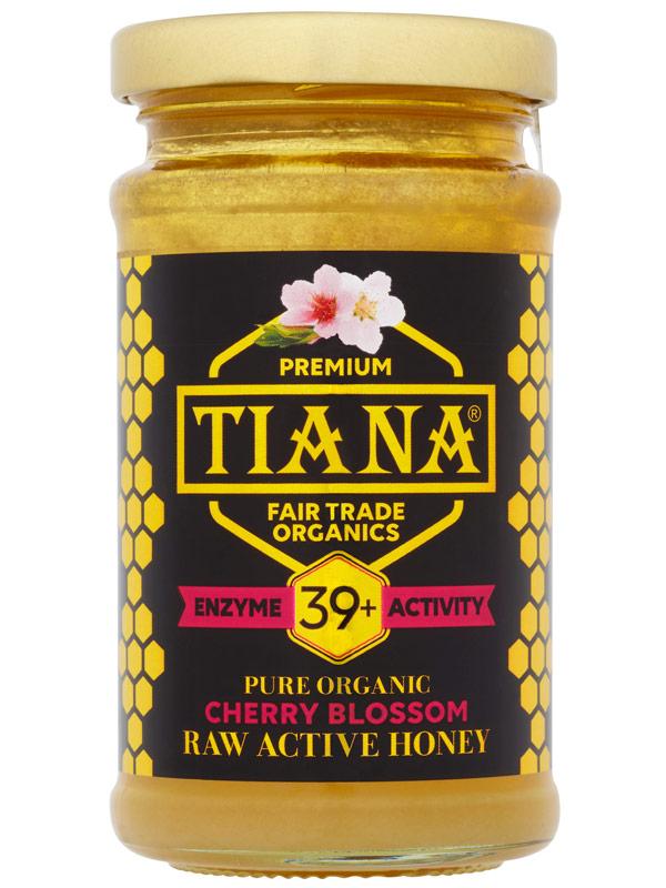 Cherry Blossom Active Honey Organic 250g Tiana Buy Online In Bulgaria At Desertcart Com Productid 66386778