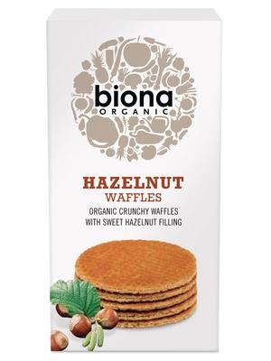 Hazelnut Waffles, Organic 175g (Biona) - HealthySupplies.co.uk. Buy ...