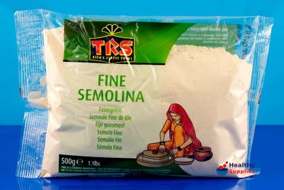Fine Semolina 500g by TRS - HealthySupplies.co.uk. Buy Online.