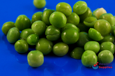 Freeze Dried Garden Peas 200g Sussex Wholefoods HealthySupplies