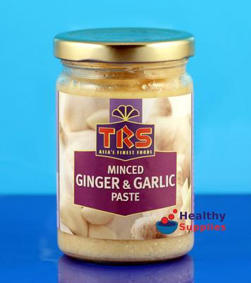 TRS Minced Ginger & Garlic Paste 227g - HealthySupplies.co.uk. Buy ...