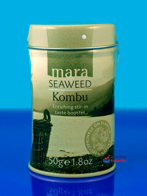 Kombu Flakes 50g (Mara Seaweed) - HealthySupplies.co.uk ...