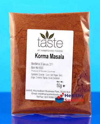 how to make korma curry powder