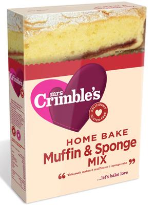 muffin sponge mix gluten free 200g mrs crimble 39 s