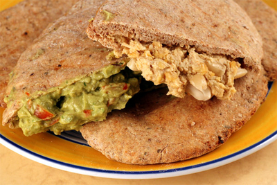 Simple Homemade Wholemeal Pitta Breads To Hold Your Favourite Fillings