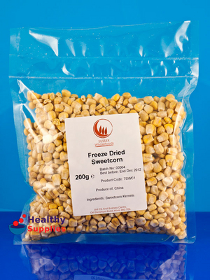 Freeze Dried Sweetcorn 200g Sussex