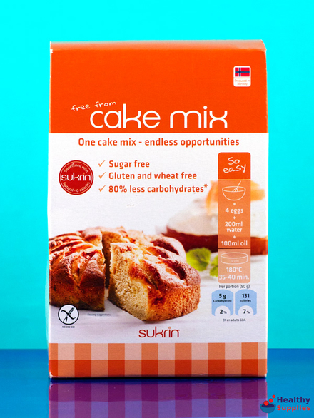 Gluten Free Cake Mix 270g Sukrin Healthysupplies Co Uk