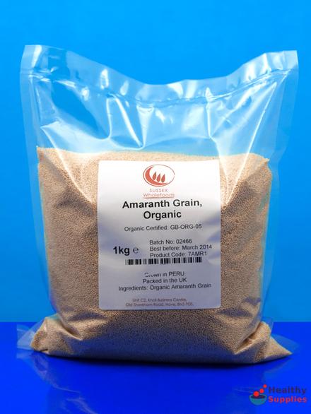 Amaranth Grain Organic 1kg Sussex Wholefoods