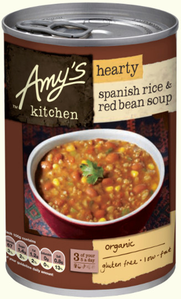 Stupendous Hearty Spanish Rice Red Bean Soup 416G Amys Kitchen Interior Design Ideas Inamawefileorg