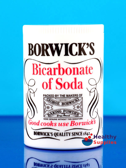 Bicarbonate of Soda 100g (Borwick's) - HealthySupplies co uk  Buy