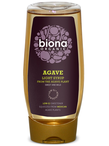 Light Agave Syrup Organic 500ml Biona Healthysupplies