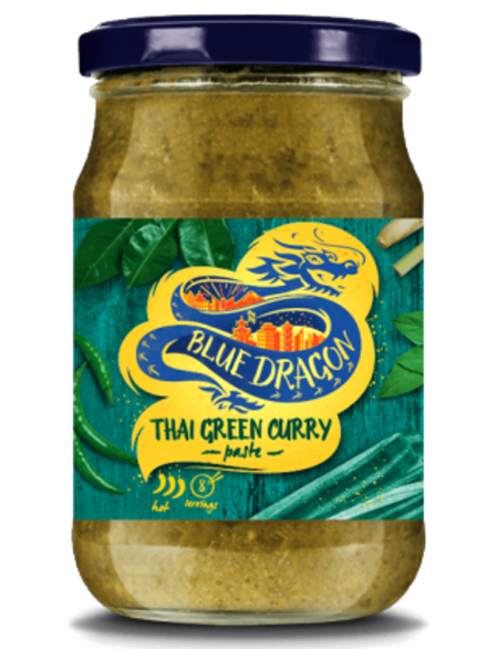Thai Green Curry Paste 285g (Blue Dragon ...