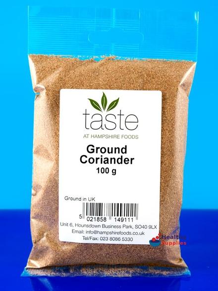 how to use coriander powder