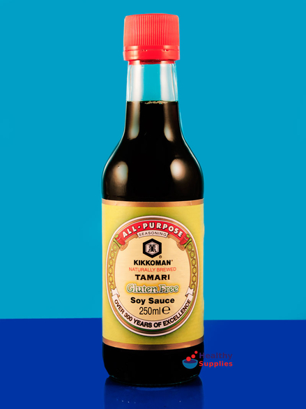 Tamari gluten free soy sauce 250ml kikkoman for Is fish sauce gluten free