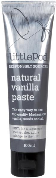 Vanilla Paste 100ml (Little Pod) - HealthySupplies.co.uk