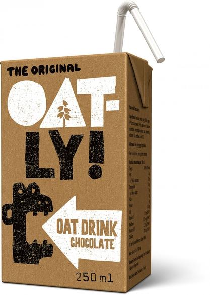 Chocolate Oat Drink 250ml Oatly Healthysupplies Co Uk