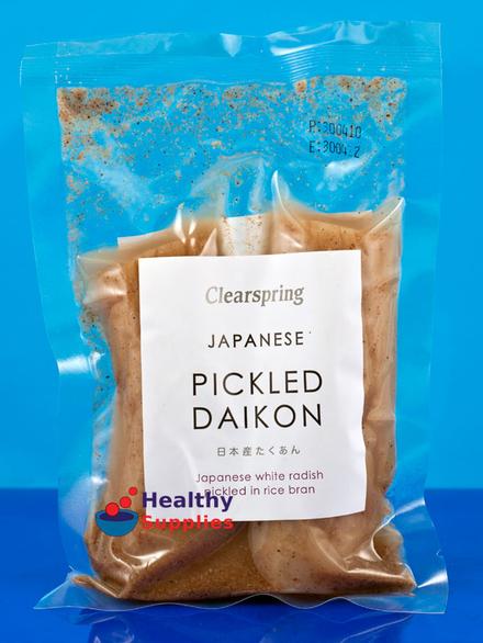 how to make pickled radish japanese
